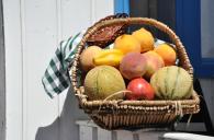 frutta al sole